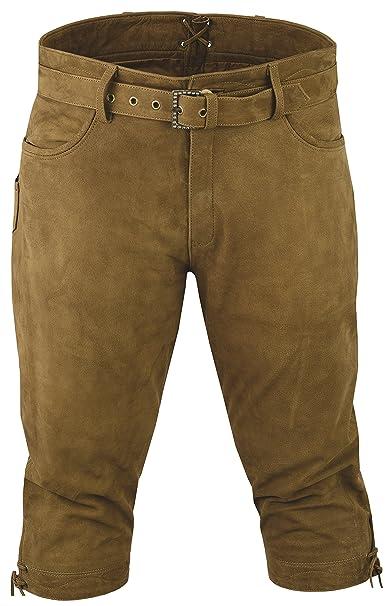 Rodillera Pantalones de piel nubuck Fuente Caza Pantalones ...