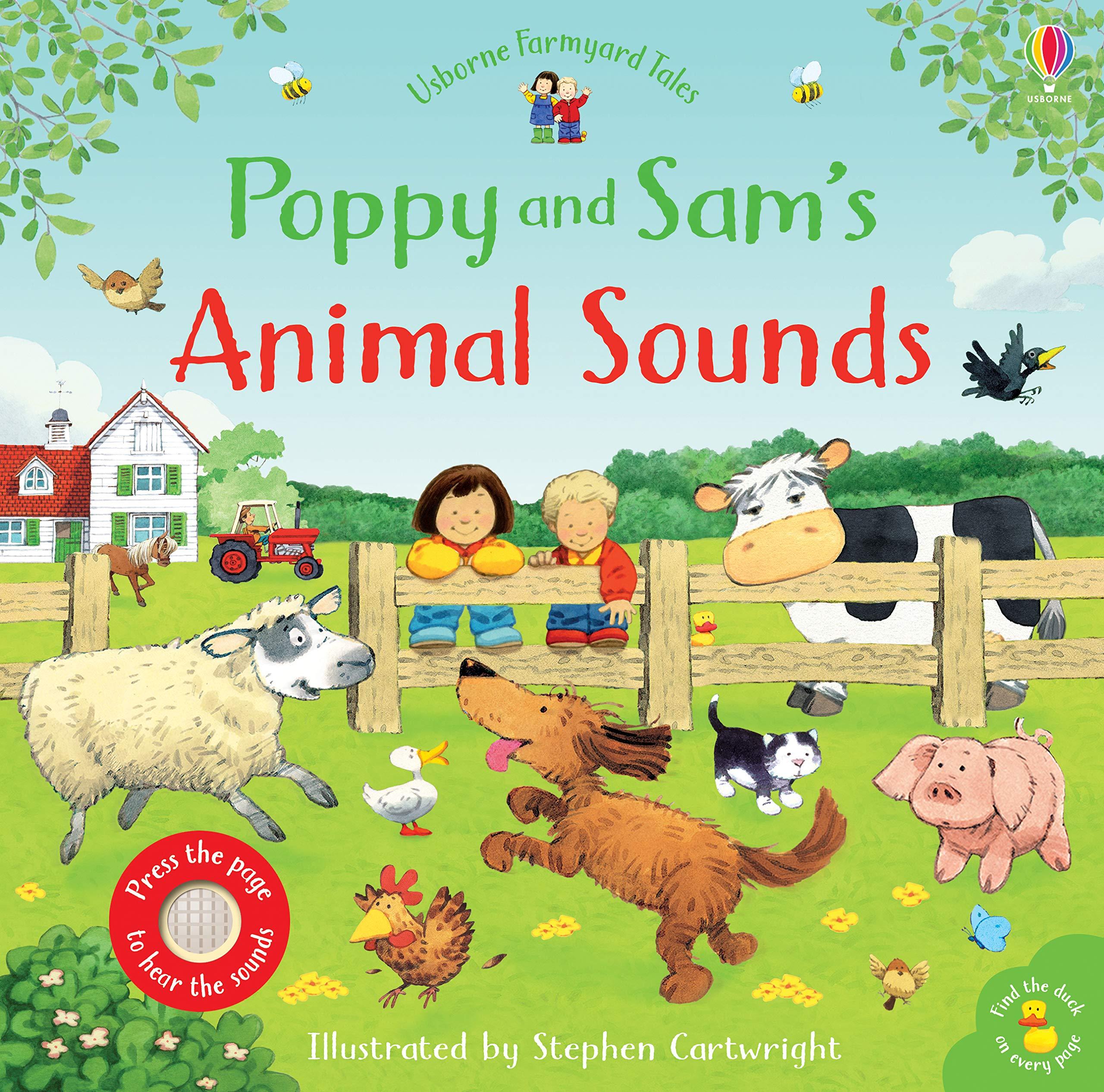Poppy and Sam's Animal Sounds Farmyard Tales Poppy and Sam: Amazon.co.uk: Sam Taplin, Stephen Cartwright, Stephen Cartwright: Books