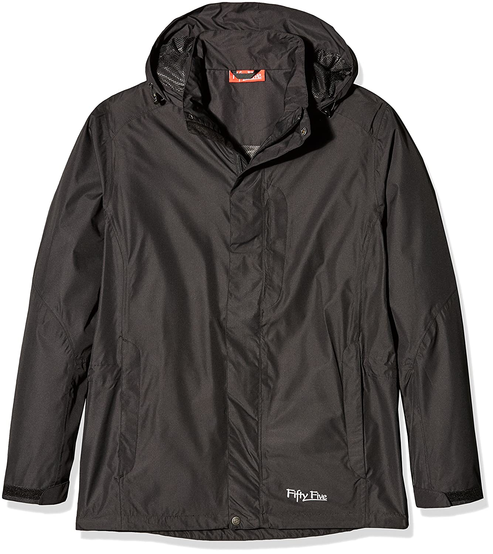 Herren Regen-Jacke | Freizeit-Jacken von Fifty Five - Winring - Packaway absolut winddicht und wasserdicht mit FIVE-TEX Membrane für Outdoor-Bekleidung
