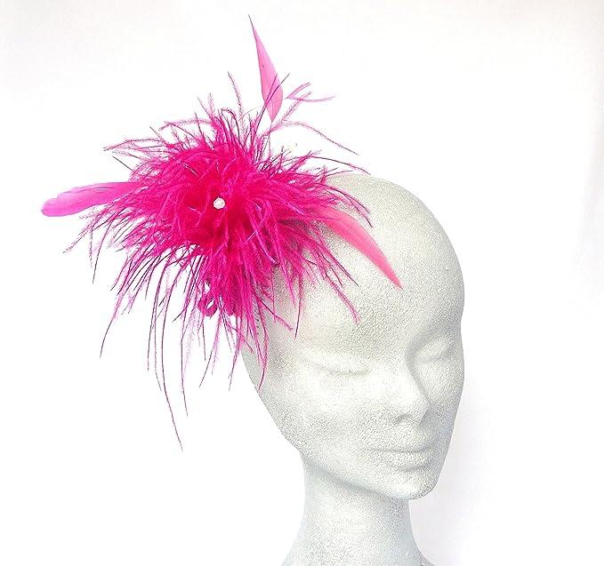 CERISE NELLY rosa de plumas de isla japonesa - para boda, RACES, sandalias planas
