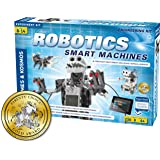 Thames & Kosmos | Robotics Smart Machines | Robotics for Kids 8 and up | STEM Kit builds 8 Robots | Full Color Manual to…