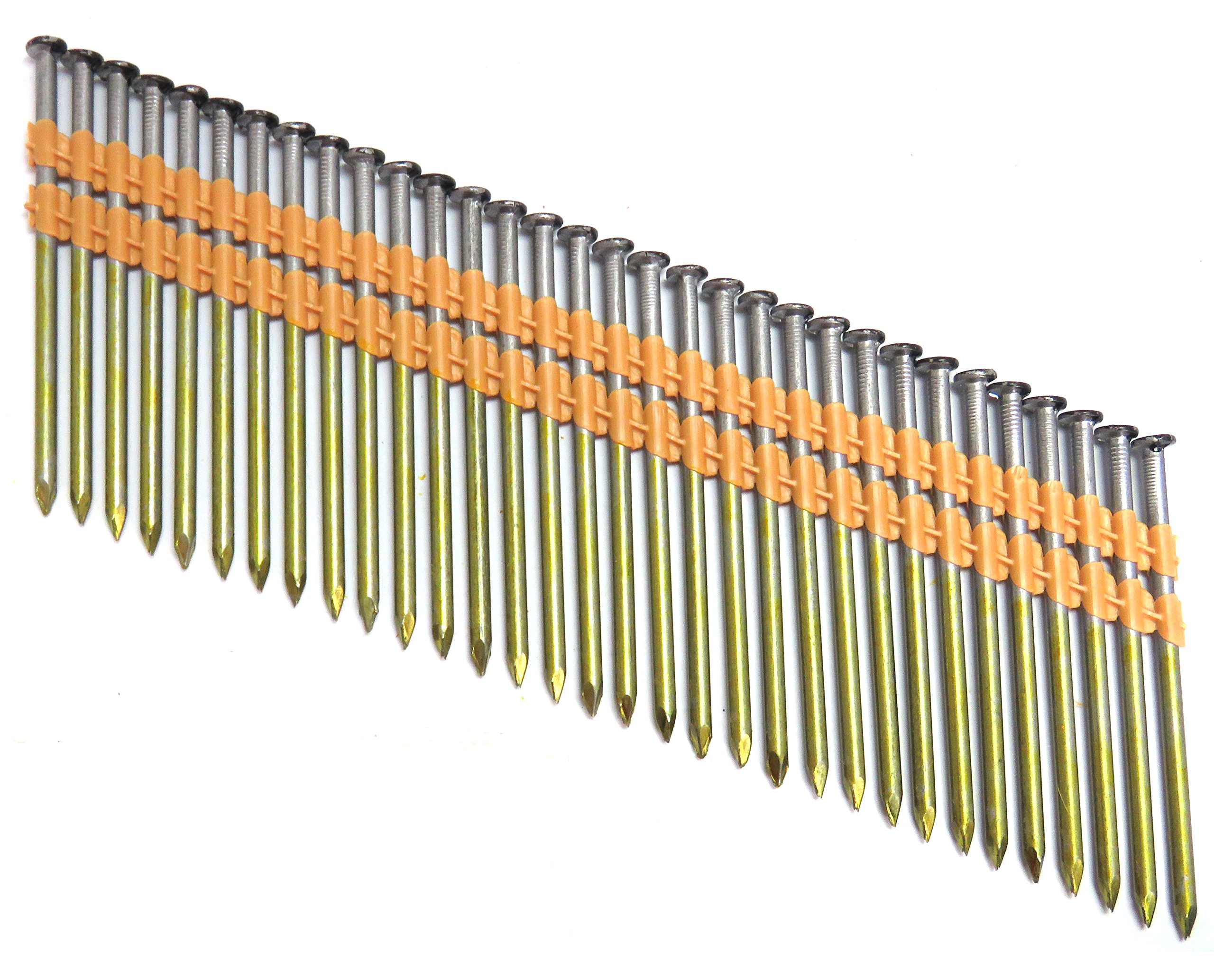 TrueSpec HXB32148P Tree Island 12D Common 3-1/4'' x .148'' Smooth Bright Framing Nails