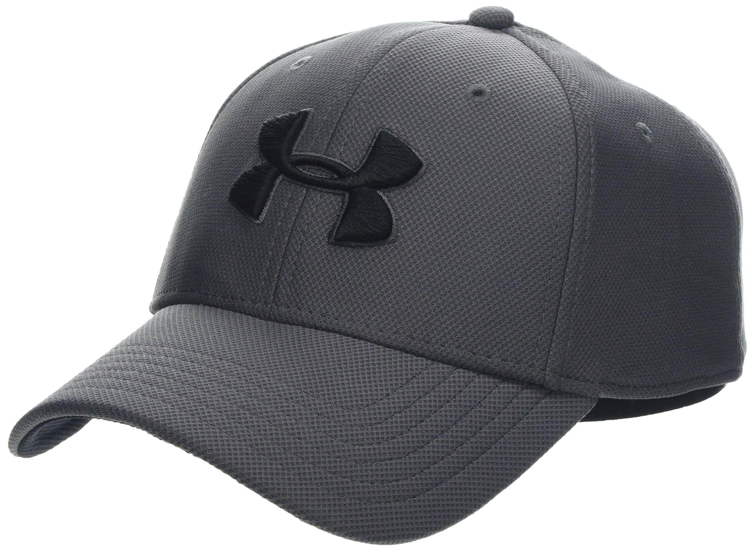 Under Armour Mens Blitzing 3.0 Cap Gorra, Hombre, Gris (Graphite Black 040)