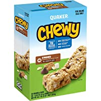 Deals on 58-Count Quaker Chewy Granola Bars Smores