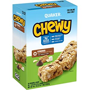 Quaker Chewy Granola Bars, S'mores, (58 Pack)