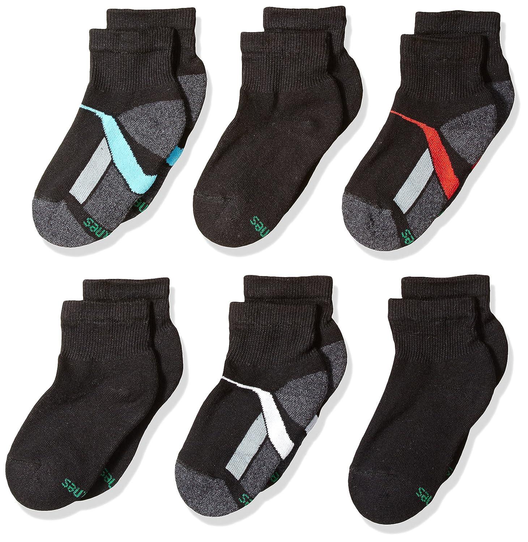 Hanes Big Boys 12-Pack Ankle Socks, Black, Large: Amazon.es: Hogar