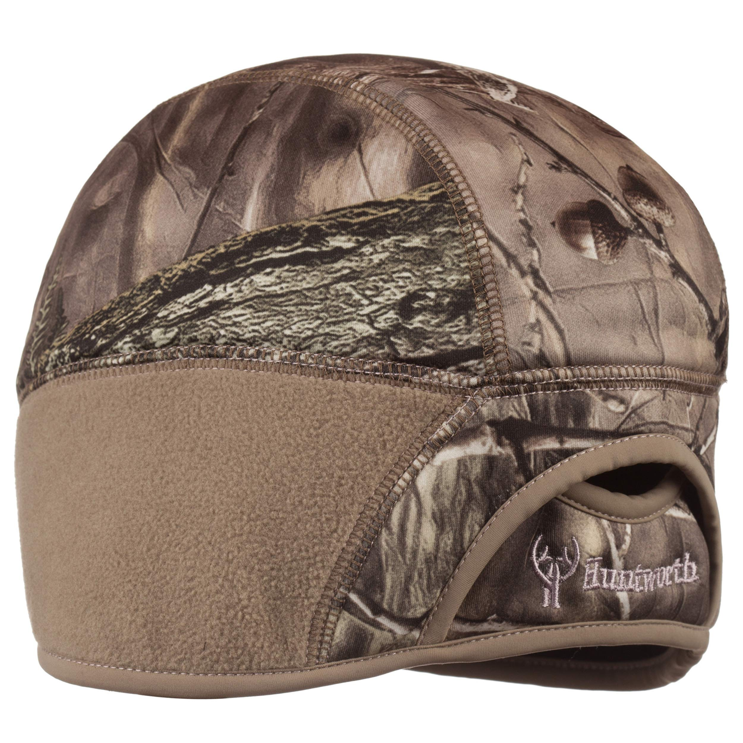 Huntworth Ladies HIDD'N Camo Performance Fleece Beanie Hat with Pony Tail Slot in Back (S/M) by Huntworth