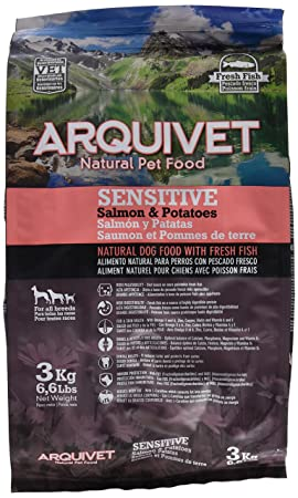 Arquivet Dog sensitive salmon y potato 3 kg: Amazon.es ...