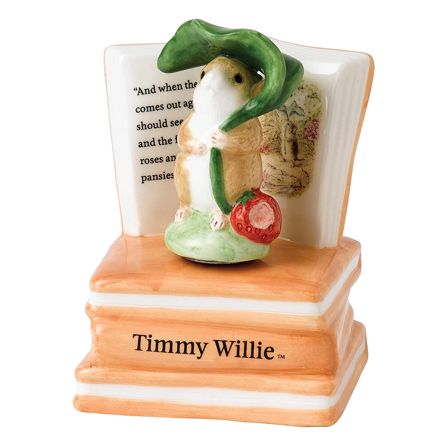 Beatrix Potter Timmy Willie Wind Up Musical Enesco A26152