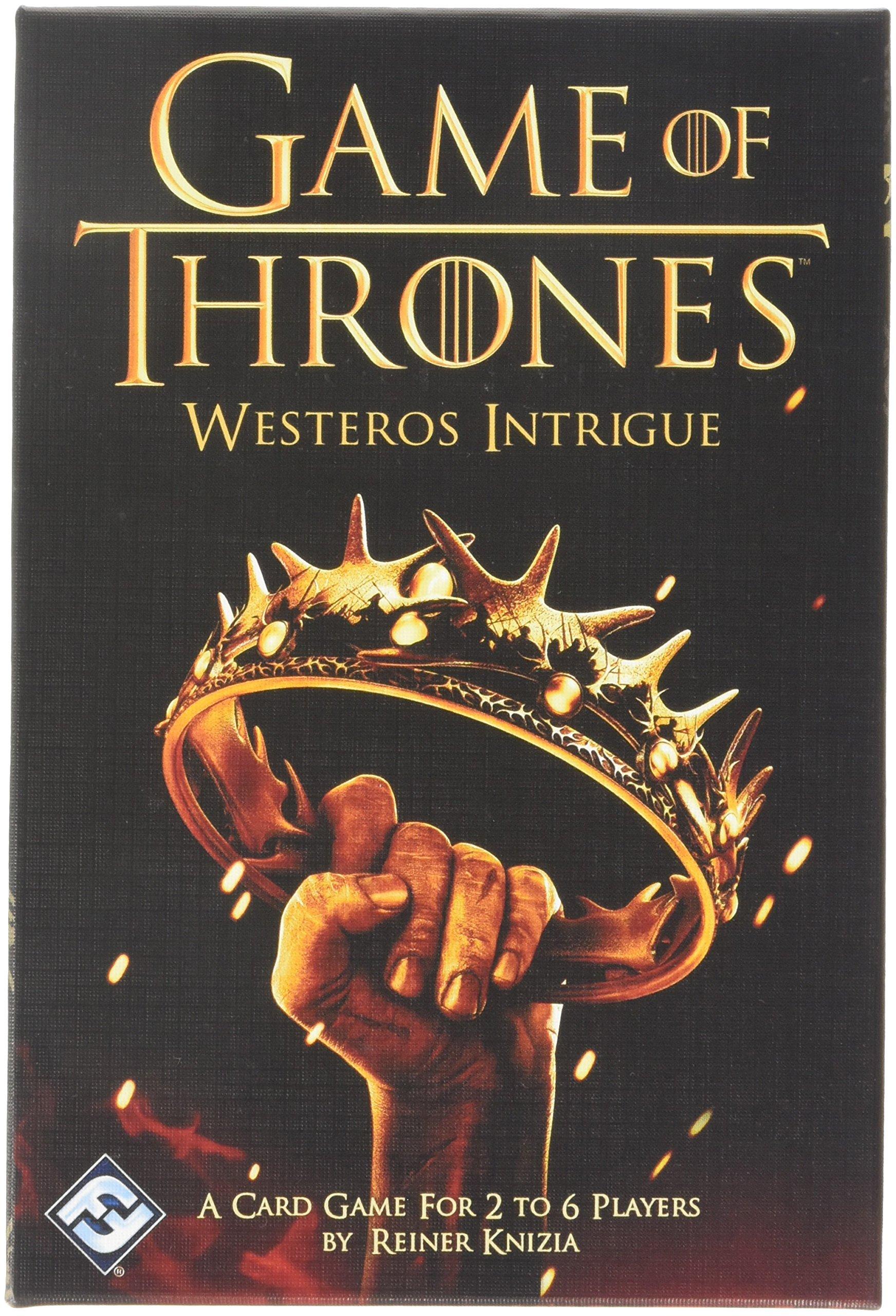 Fantasy Flight Games HBO09 Game of Thrones Intrigue, Multicoloured