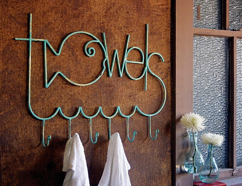 6 Interesting Towel Racks
