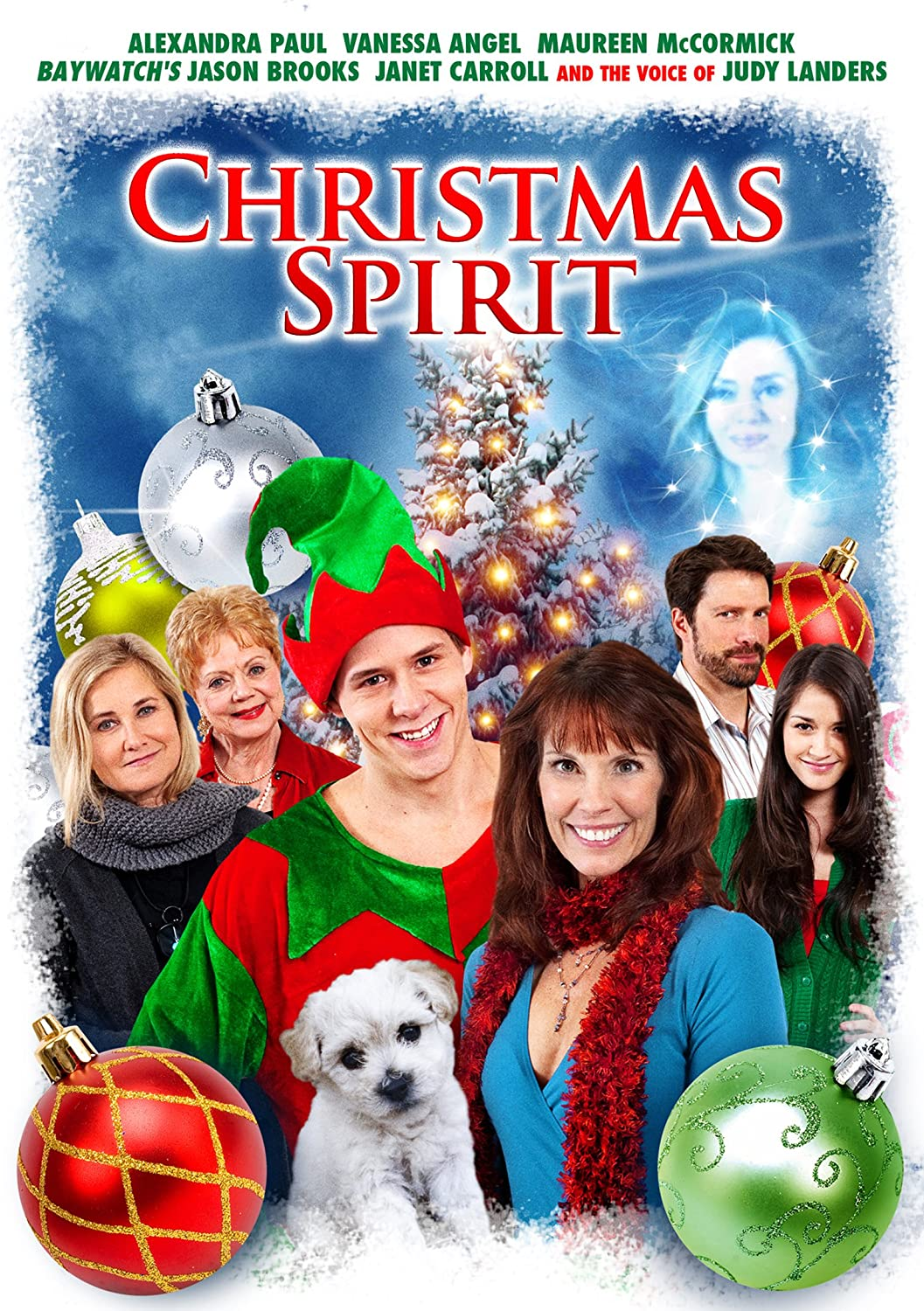 Amazon.com: Christmas Spirit: Alexandra Paul, Vanessa Angel, Maureen ...