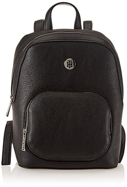 Tommy Hilfiger - Th Core Backpack, Mochilas Mujer, Negro (Black), 12.5