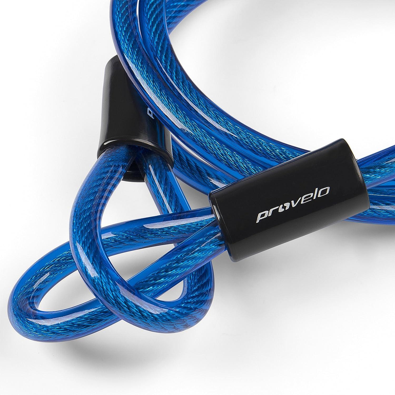 Pour parker votre v/élo o/ù vous le souhaitez /À utiliser avec tous types de Cadenas C/âble dextension daccroche pour V/élos Provelo Plusieurs Coloris disponibles !