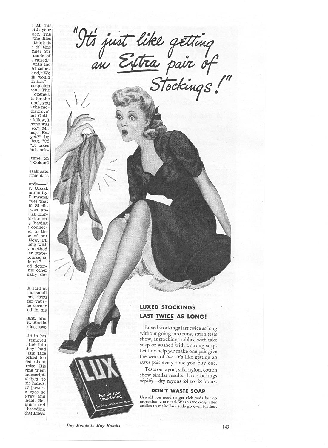 Lifebouy Soap Vintage advertising poster reproduction.