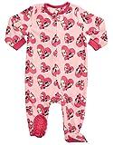 Leveret Fleece Sleeper Pajama Bulldog Girl 4 Years