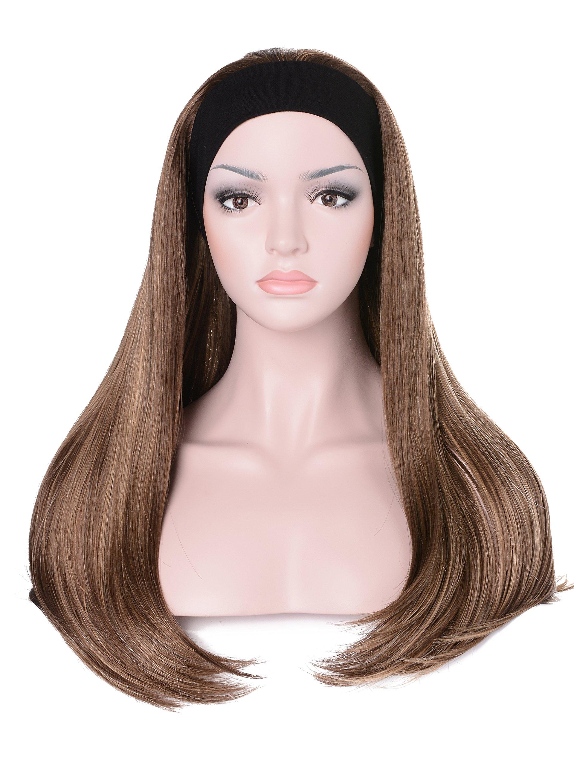 Amazon Com Curly 3 4 Fall Hair Piece Long Wavy Lady Half