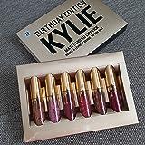 100% real Birthday Kylie Jenner Kylie Edition Birthday kit Matte Liquid Lipstick | 6 Mini set
