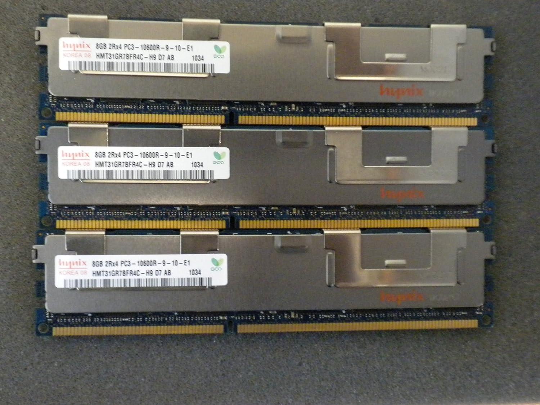 24GB DDR3 PC3-10600 1333 MHz Hynix Memory for HP PROLIANT 3X8GB