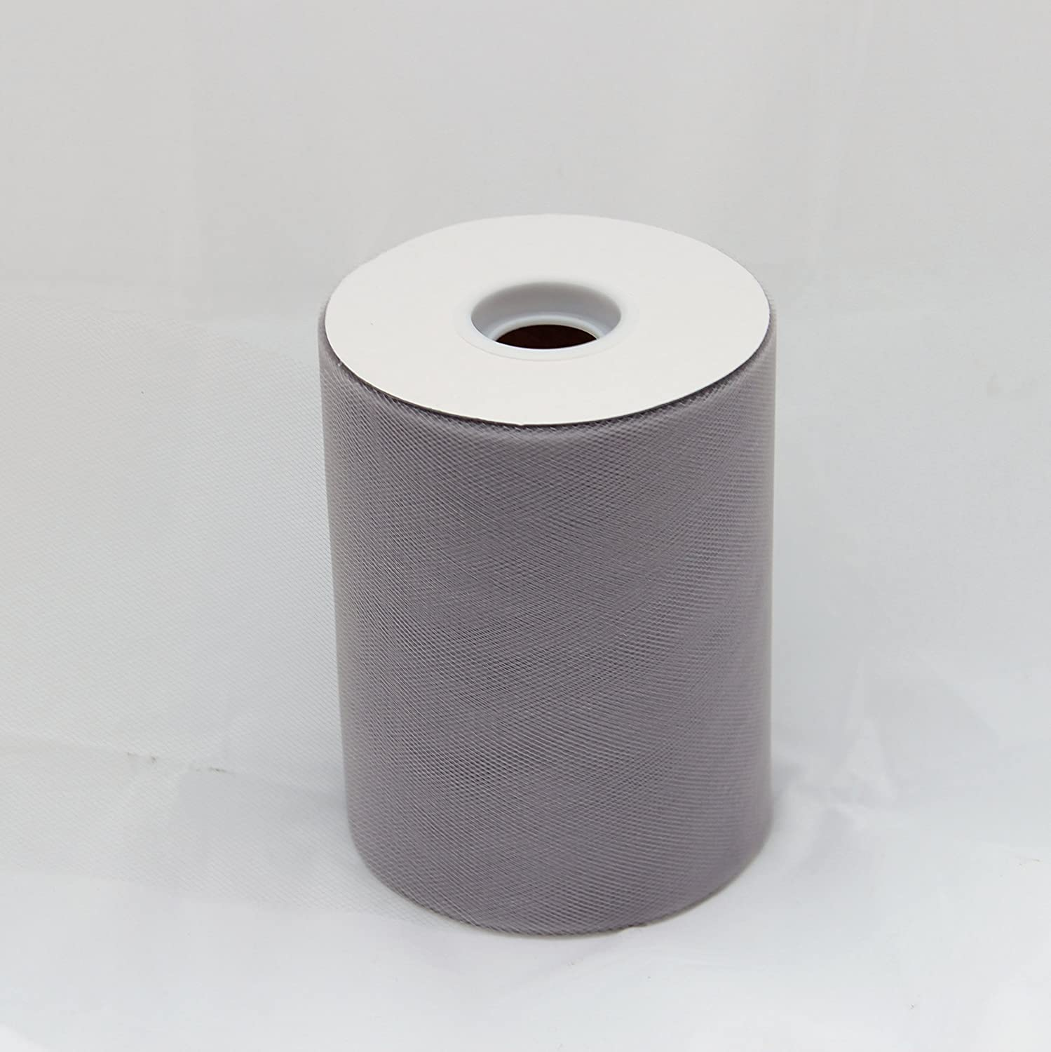 Amazon.com: Grey Silver Tulle Roll - 6 Inch X 100 Yard - Tulle for ...