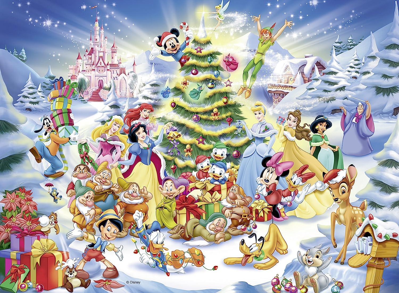 amazon com ravensburger kids disney christmas eve jigsaw puzzle