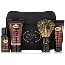 The Art of Shaving 4 Piece Starter Kit with Bag, Sandalwood