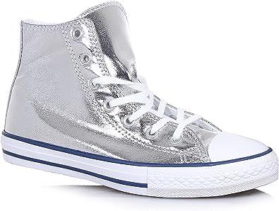 Converse C.T. All Star Hi Silver White 656835C: