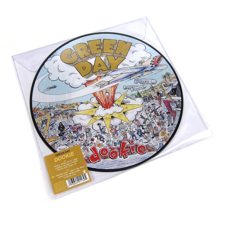"Green Day 1994 - 12/"" Vinyl Record Clock Dookie"