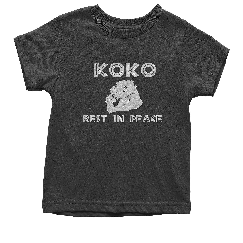 FerociTees Koko The Talking Gorilla Rest in Peace Youth T-Shirt