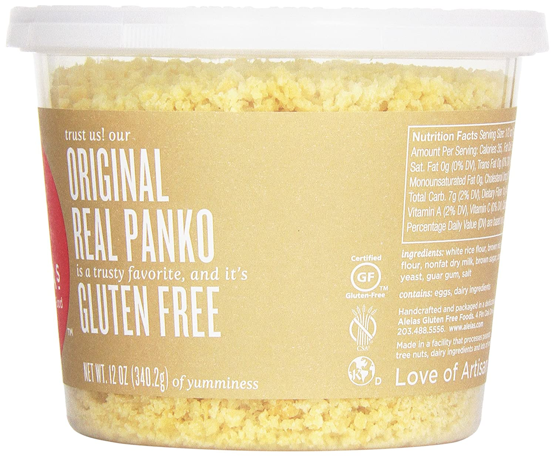 Amazon.com : Aleia's Gluten Free Panko Crumbs, Original, 12 Ounce ...