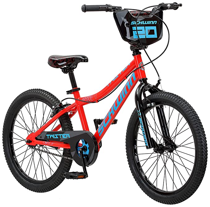 408ac1cb9ba Amazon.com: Schwinn Twister Boy's Bicycle, 20