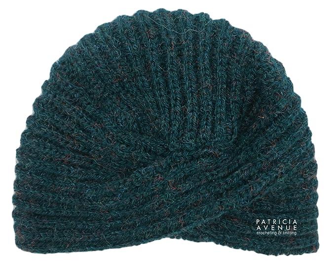 f7625cba230 Patricia Avenue Custom Order - Handmade Alpaca and Wool Turban Inspired Hat
