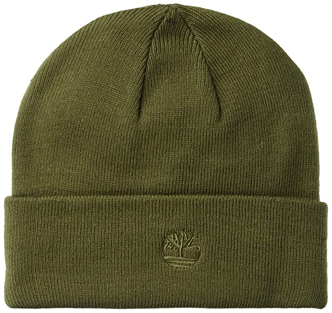 ddea91fc8ddf6 Timberland Men s Cuffed Beanie with Embroidered Logo
