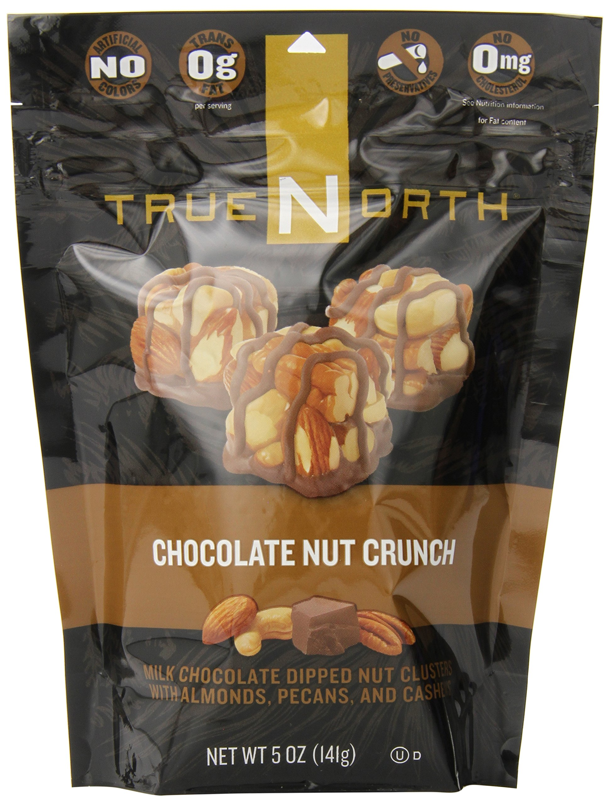 True North Crunch, Chocolate Nut, 5 Ounce (Pack of 12) by TRUE NORTH