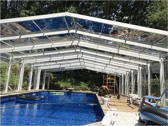 ClearYup Cubiertas de seguridad para piscina de interior térmicas ...