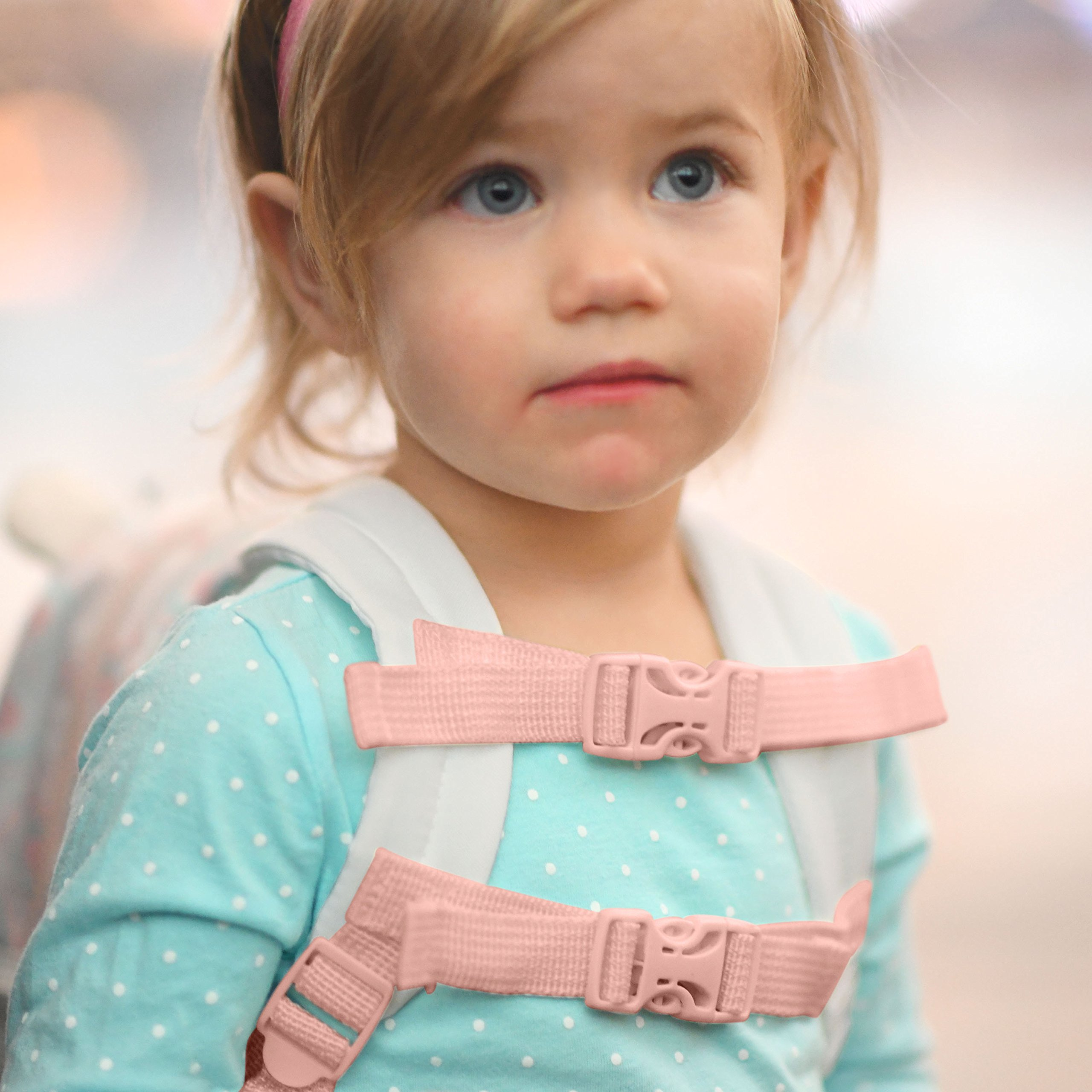 Travel Bug Toddler Safety Unicorn Backpack Harness with Removable Tether, Pink/White by Travel Bug (Image #4)