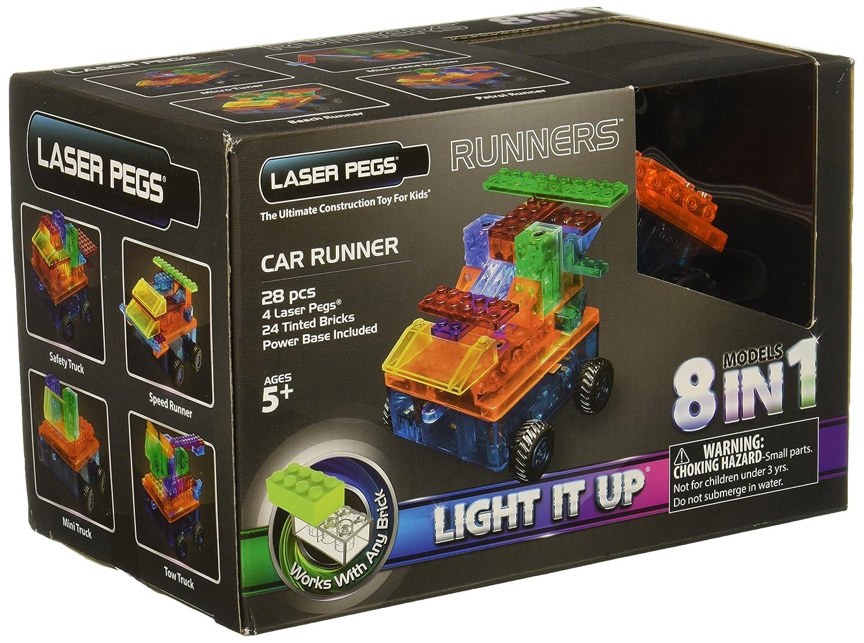 Laser Pegs 8-in-1 Chopper Building Set