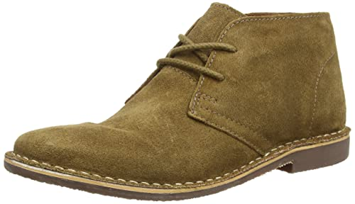 Red Tape Mens Gobi Stone Suede Desert Boot Beige Stone 7 UK