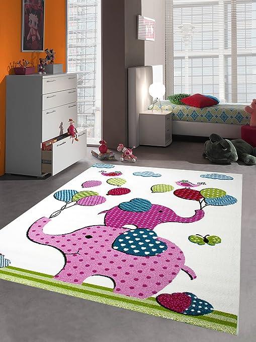 Kinderteppich Spielteppich Teppich Kinderzimmer Babyteppich Hase In
