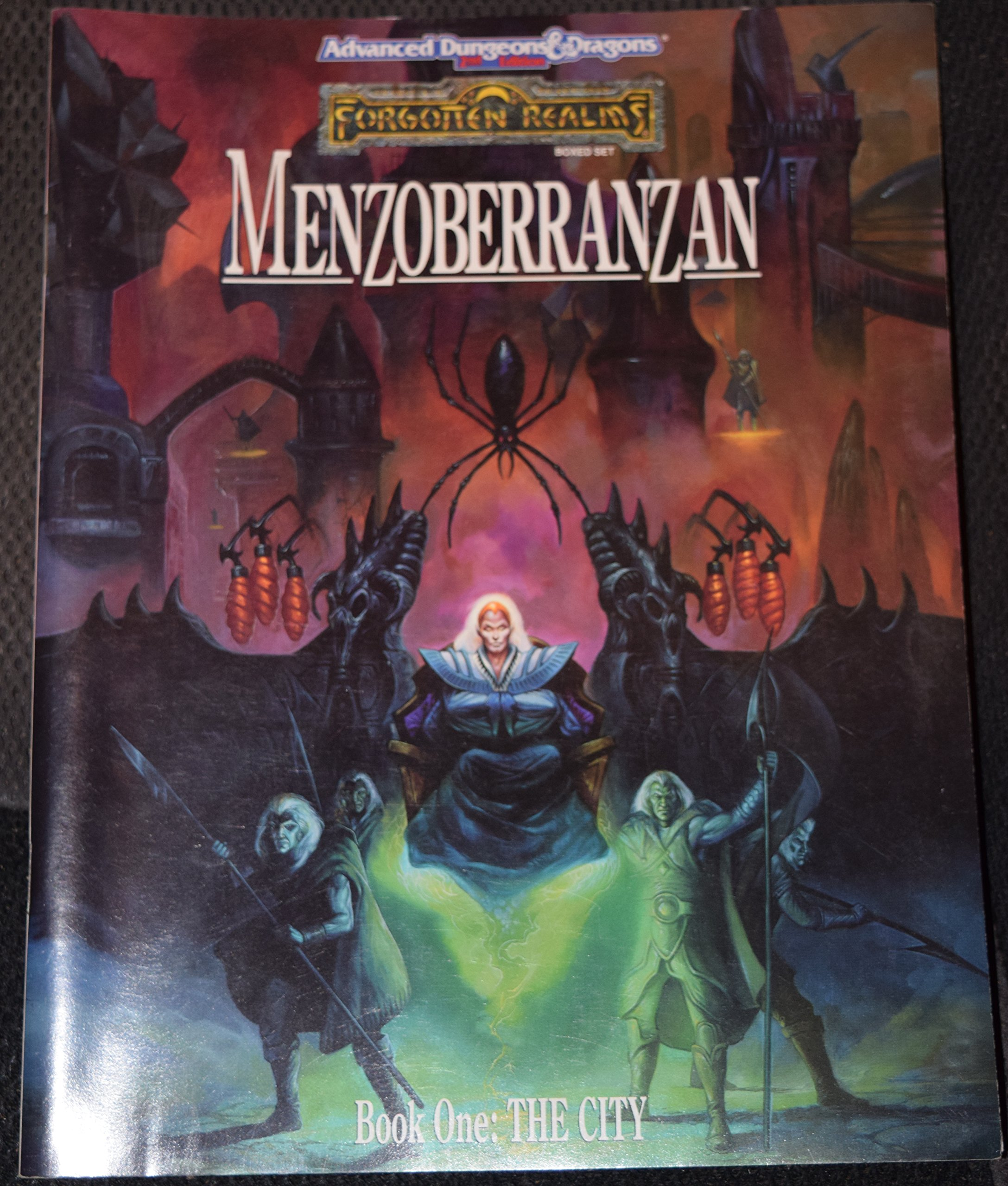 Menzoberranzan The Famed City of the Drow, Revealed At Last