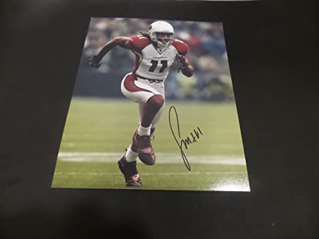 newest f3590 de4a7 Larry Fitzgerald Signed Arizona Cardinals Autographed 8x10 ...