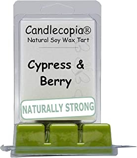product image for Candlecopia Cypress and Bayberry Strongly Scented Hand Poured Vegan Wax Melts, 12 Scented Wax Cubes, 6.4 Ounces in 2 x 6-Packs