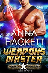 Weapons Master: A Scifi Alien Romance (Galactic Gladiators: House of Rone Book 6) Kindle Edition