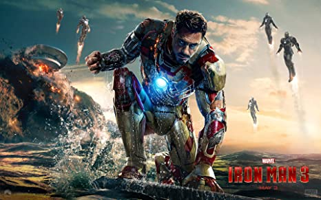 Posterhouzz Movie Iron Man 3 Iron Man Marvel Robert Downey