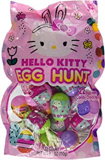 Hello Kitty Candy Filled Easter Eggs 22 Count Ages 3
