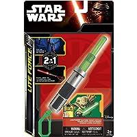 Jazwares – 39327 – Anahtarlık – Star Wars – Action Yeşil ışık Yoda, Ausfahrbare lamba ile kolye ucu