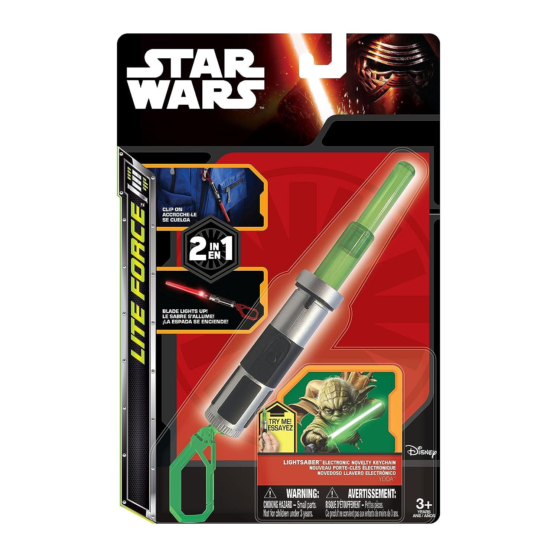 Tech4Kids 39327 - Llaveros - Star Wars - Yoda Acción luz ...