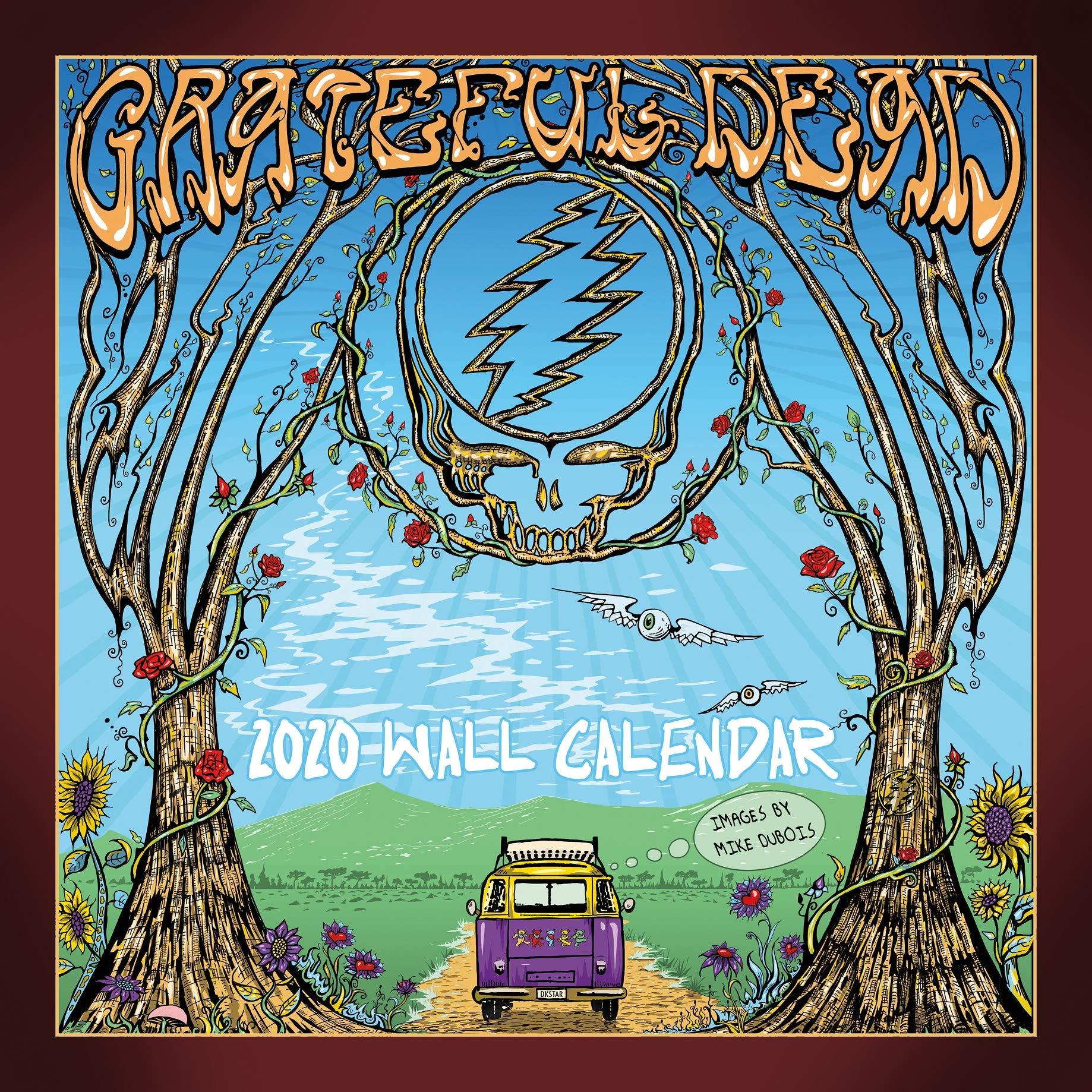 Grateful Dead 2020 Calendar