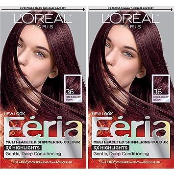 Amazon Com L Oreal Paris Feria Permanent Hair Color Chocolate