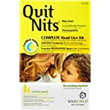 Quit Nits Natural Complete Head Lice Removal and Repellent Kit with comb, Kills and Prevents Lice and Lice Eggs, Treatment for Lice instead of Shampoo 1 Kit